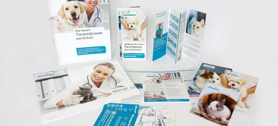 Activet Tierarztpraxis :: Print-Materialien